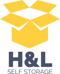 H & L Self Storage Logo